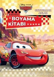 Disney Pixar Arabalar Unutulmaz Anlar Çıkartmalı Boyama Kitabı