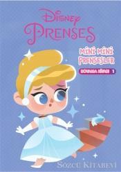 Disney Prenses Mini Mini Prensesler Boyama Kitabı 1