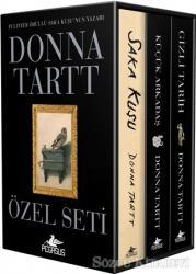 Donna Tartt Özel Seti Kutulu (3 Kitap Takım)