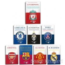 Dünya Futbol Kulüpleri (8 Kitap Set)
