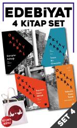 Edebiyat 4 Kitap Set4 (Bez Çanta Hediye)