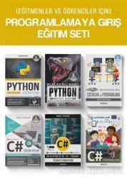 (Eğitmenler ve Öğrenciler İçin) Programlamaya Giriş Eğitim Seti (6 Kitap Takım)