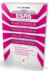 Esas İdari Hakimlik Sınavına Hazırlık Tamamı Çözümlü 4 Deneme Sınavı