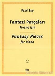 Fantazi Parçaları  Piyano İçin Fantasy Pieces For Piano
