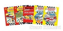 Ferrari Boyama Aktivite Seti 5 Kitap