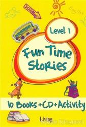 Fun Time Stories - Level 1 (10 Books+CD+Activity)