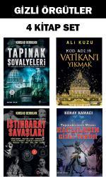 Gizli Örgütler 4 Kitap Set