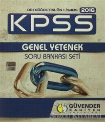 Güvender 2016 KPSS Ortaöğretim-Ön lisans 2016 Genel Yetenek Soru Bankası (3 Kitap)