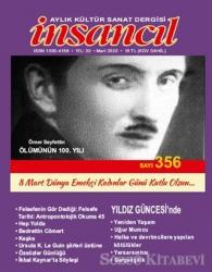 İnsancıl Aylık Kültür Sanat Dergisi Sayı: 356 Mart 2020