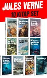 Geleceğin Çocukları - Jules Verne 10 Kitap Bir Arada