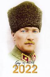 2022 Atatürk Ajandası Kalpaklı