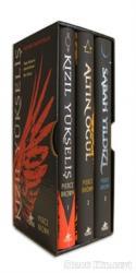 Kızıl İsyan Serisi Özel Kutulu Set (3 Kitap Ciltli)