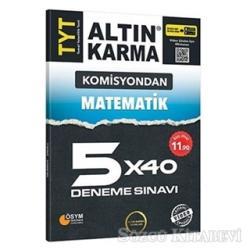 Komisyondan TYT Matematik 5x40 Deneme Sınavı
