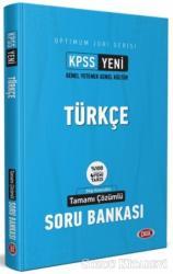 KPSS Optimum Jüri Serisi Türkçe Tamamı Çözümlü Soru Bankası