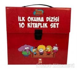 Kral Şakir İlk Okuma Kitaplari Çantali Set (10 Kitap Takım) - Kırmızı