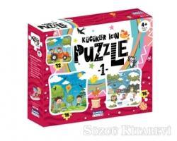 Küçükler İçin Puzzle 1 (Kutulu)