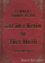 Kur'an-ı Kerim ve Yüce Meali (Cami Kebir Boy)