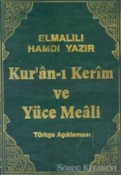 Kur'an-ı Kerim ve Yüce Meali Türkçe Açıklaması Cami Boy