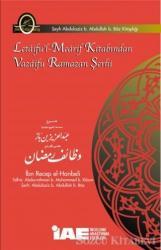 Letaifu'l-Mearif Kitabından Vazaifu Ramazan Şerhi