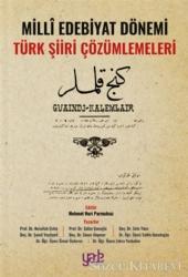 Milli Edebiyat Dönemi Türk Şiiri Çözümlemeleri