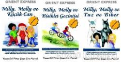 Mily Moly Serisi ( 3 adet) Tuz Ve Biber / Bisiklet Gezintisi / Küçük Can (El yazısı)
