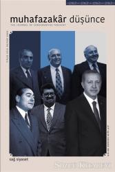 Muhafazakar Düşünce Dergisi Sayı: 60 Ocak-Haziran 2021
