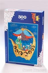 Nuh'un Gemisi (500 Parça) - Ahşap Puzzle Türk Sanatı Serisi - (TS02-D)