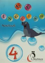Öğretmen 4. Sınıf İngilizce Defteri - My English Notebook