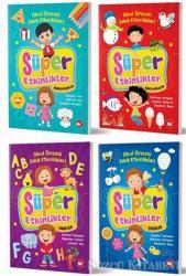 Okul Öncesi Zeka Geliştiren Etkinlik Kitapları Seti (4 Kitap Takım)