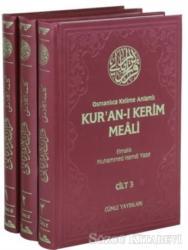 Osmanlıca Kelime Anlamlı Kur'an-ı Kerim Meali (3 Cilt Takım)