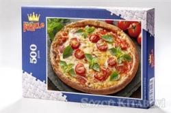 Pizza (500 Parça) - Ahşap Puzzle Yiyecek - İçecek Serisi - (YI04-D)