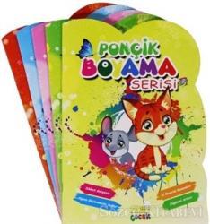 Ponçik Boyama Serisi (Şekilli Kesim, 5 Kitap Set)