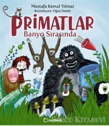 Primatlar Banyo Sırasında