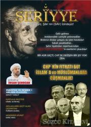 Seriyye İlim Fikir Kültür ve Sanat Dergisi Sayı: 10 Ekim 2019