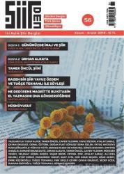 Şiirden İki Aylık Şiir Dergisi Sayı: 56 Kasım - Aralık 2019