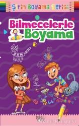 Şirin Boyama Serisi - Bilmecelerle Boyama