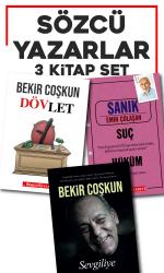 Sözcü Yazarlar 3 Kitap Set