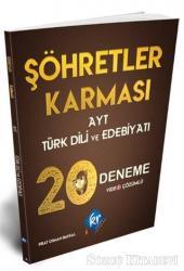 Şöhretler Karması AYT Türk Dili ve Edebiyatı 20 Deneme Video Çözümlü