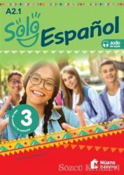 Solo Espanol 3 (A2.1) Libro Del Alumnoy de Ejercicios +Audio Descargable