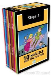 Stage-1 İngilizce Hikaye Seti (10 Kitap Kutulu)