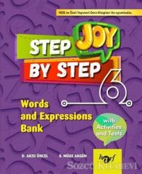 Step By Step Joy 6. Sınıf Words and Expressions Bank