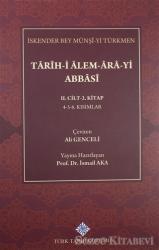 Tarih-i Alem-Ara-yi Abbasi 2.Cilt-2.Kitap
