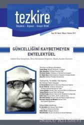 Tezkire Dergisi Sayı : 60 Nisan-Mayıs-Haziran 2017