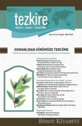 Tezkire Dergisi Sayı :63 Ocak - Şubat - Mart 2018