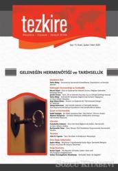 Tezkire Dergisi Sayı: 71 Ocak-Şubat-Mart 2020