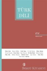 Türk Dili Dil ve Edebiyat Dergisi Sayı: 816 Aralık 2019