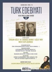 Türk Edebiyatı Dergisi Sayı: 560 Haziran 2020