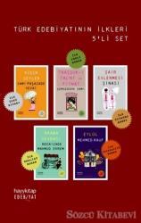Türk Edebiyatının İlkleri Seti (5 Kitap Takım)