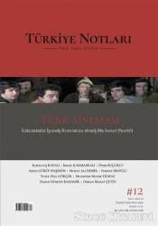 Türkiye Notları Fikir Tarih Kültür Dergisi Sayı: 12