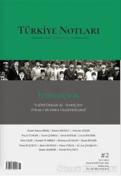Türkiye Notları Fikir Tarih Kültür Dergisi Sayı: 2